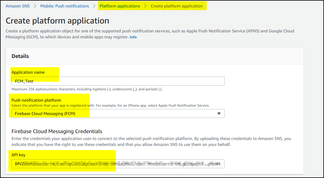 How to test Firebase Cloud Messaging (FCM) Push Notification