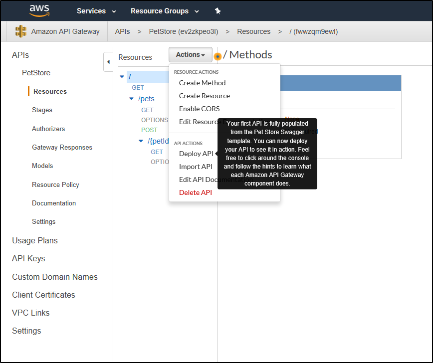 How to import and deploy an API using AWS API Gateway – A Turning Point