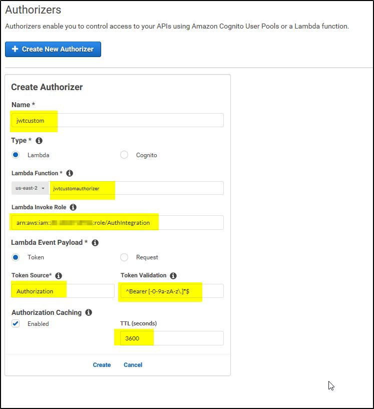 How to create Custom Authorizer in AWS API Gateway – A