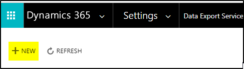 How to configure the Dynamics 365 Online Data Export Service