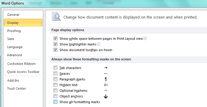How To Remove Strange Symbols Characters In Ms Word Document A