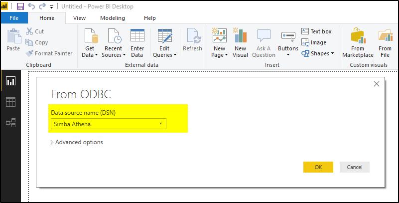 How To Connect Microsoft Power BI to Amazon Athena using