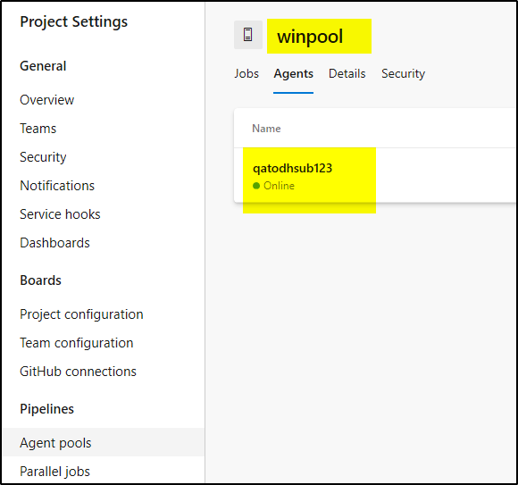 How To Create Self Hosted Windows Build Agent Using Azure