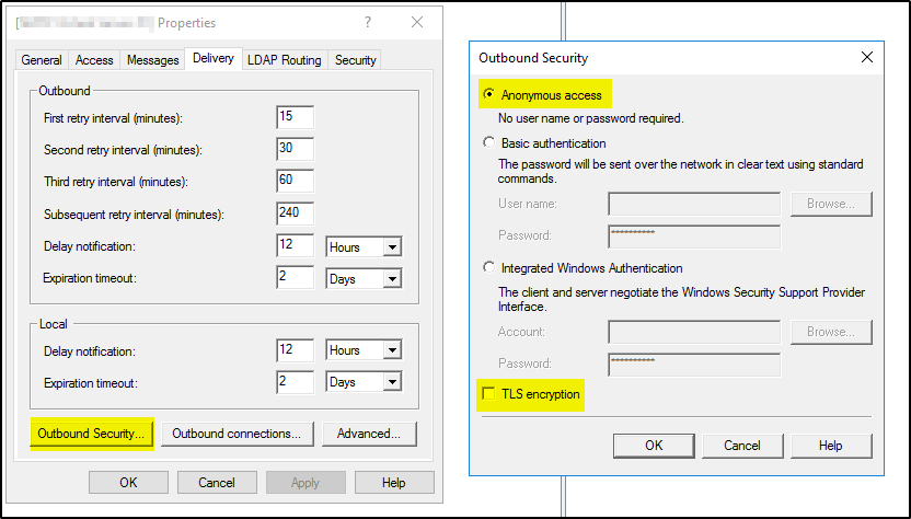 How to troubleshoot and resolve SMTP relay related error – A